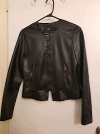 Zara leather jacket Toronto