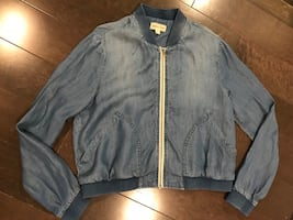 Cloth & stone anthropologie women's jacket ~ large ~ retailed $170+