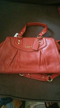 Red Coach Purse Mississauga, L5G 1T6