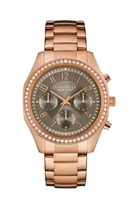 WOMAN'S CARAVELLE  Y BULOVA GOLD ROSE WATCH. Los Angeles, 90063