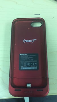 (Product red) mophine iPhone 5s charging case 7/10 condition Cambridge, N1R 3H3
