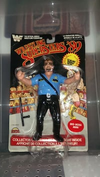 Ljn WWF wrestling superstars 89 card Big Boss Man. Summit
