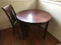 Wooden Table with 2 Chairs San Diego