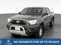 2015 Toyota Tacoma Double Cab pickup PreRunner Pickup 4D 5 ft Gray Petersburg