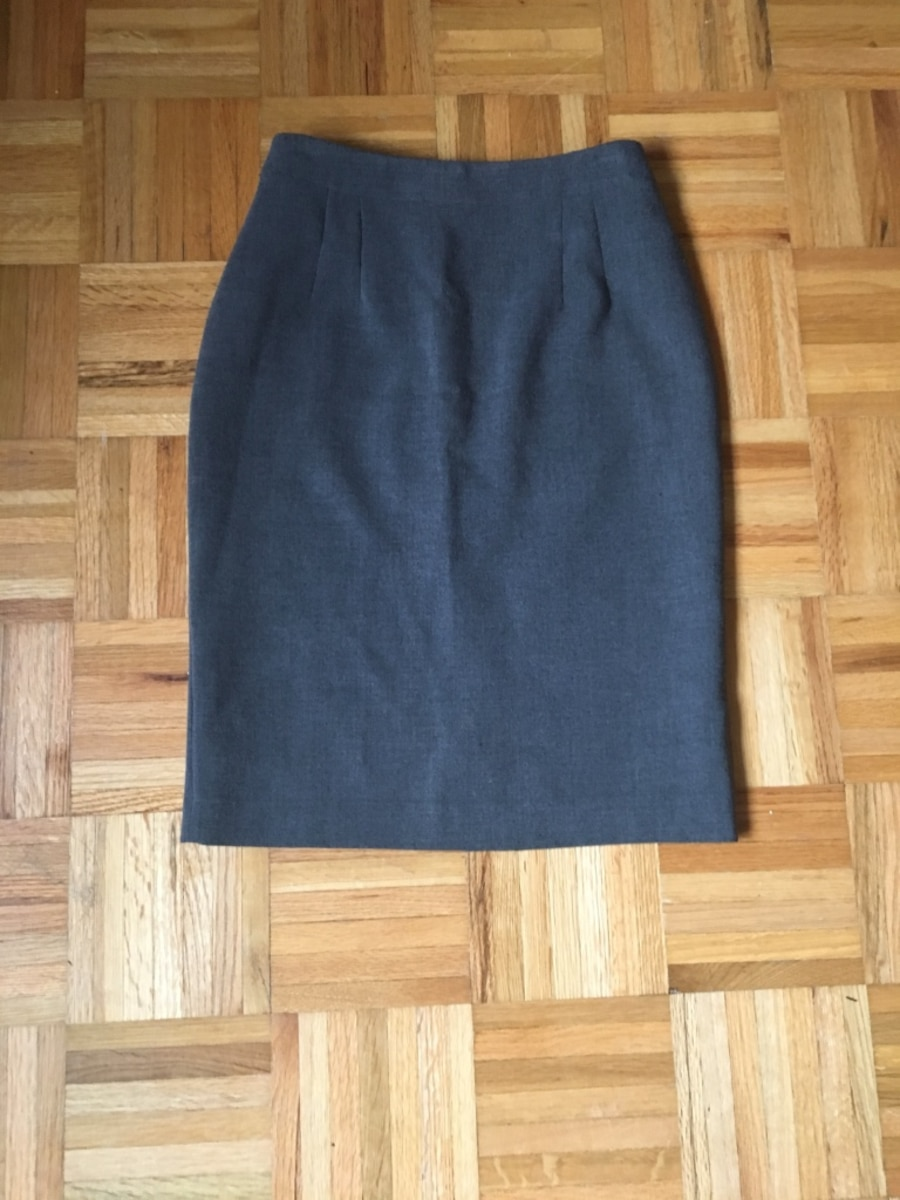 two gray and one black skirts - Vaughan
