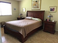 7PC Bedroom Set Real Wood Hialeah, 33018