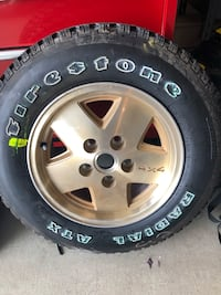 Firestone Tire & Rim