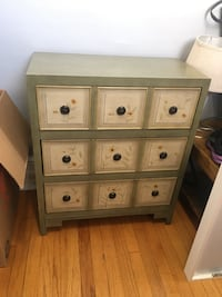 Decorative accent chest from Raymond and Flanagan Hoboken, 07030