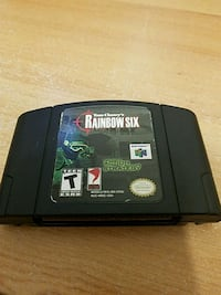 Tom Clancy rainbow Six n64 game Gary, 46405