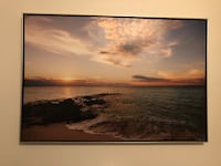Large Sunset and Ocean print New Westminster, V3M