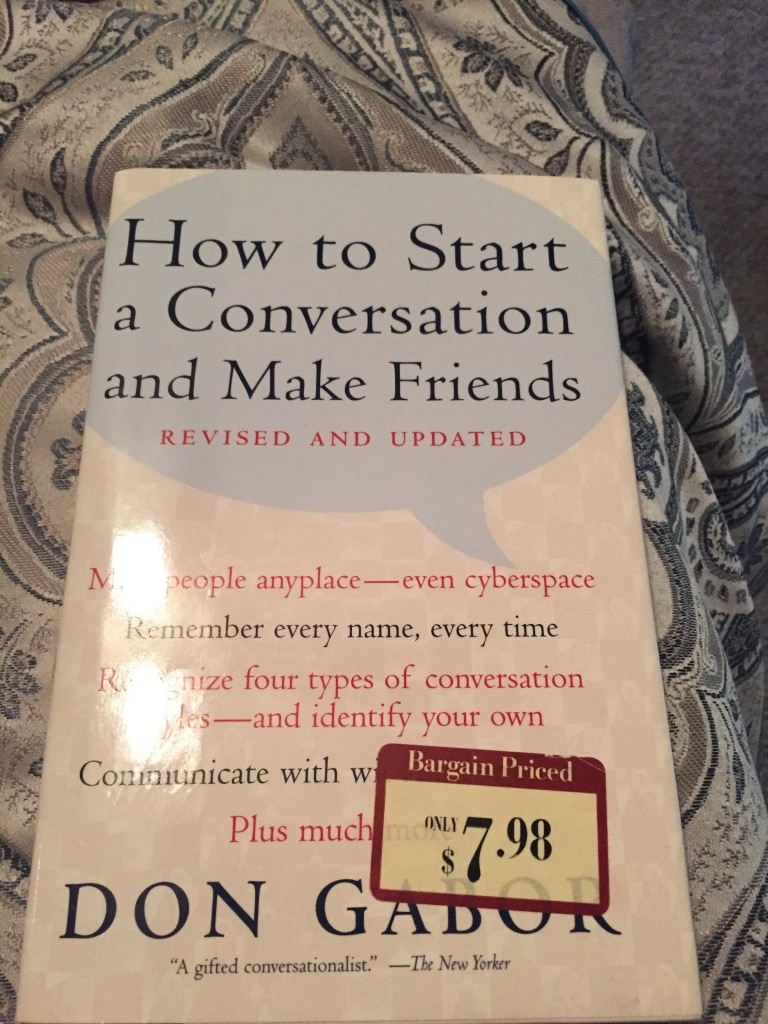 how to start a conversation with a friend online