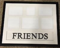 *~*White and black Friends picture frame *~* Oklahoma City, 73135