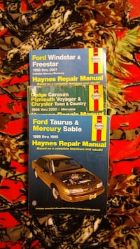 three Haynes Repair Manual books 10.00 each Crooksville, 43731