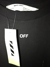 Off White SEEING THINGS paint T-shirt Ankeny, 50023