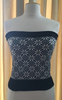 Tube top in woll