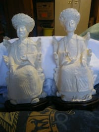 Carved statues $70.00 for both.  Calgary, T2K 3Z1