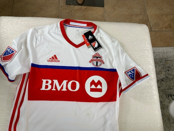 Toronto FC Soccer Jersey, Adidas Climacool,MEDIUM, new with tags, receipt