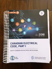 Canadian Electrical Code 2018 Mississauga, L5C 1K4