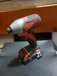 black and red Milwaukee cordless impact wrench Burnaby, V5J 4J9