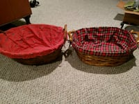 Two baskets (for laundry or as a gift basket!) Fairfax