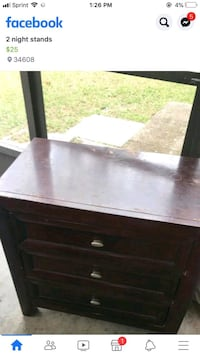 end table  Spring Hill, 34606