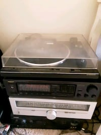 Turntable and tuners prices below
