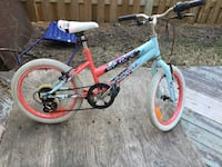 toddler's blue and red bicycle Edmonton, T5T 3V4