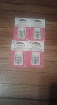 4 Schmetz Quilting Sewing Machine Needle Packs new