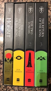 The Hobbit and Lord of the Rings Boxed Set (4 Books) Mississauga, L5B