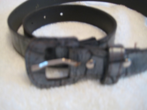 Ladies Gray Belt (not leather) - NEW 98f29d8e-17d9-404f-ae52-3185e4e3bcaf