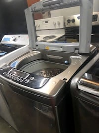 Lg stainless steel top load washer excellent condi 46 mi
