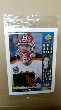 unopened Patrick Roy oversized collectable card Spruce Grove, T7X