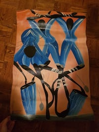 Authentic Cuban painting on canvas.