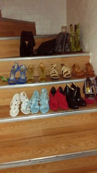Ladies shoes and boots a size 5 and 1/2 and also to racing cars .