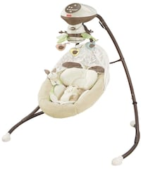 Fisher price snug a bunny swing 20 km