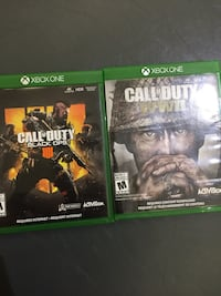 Call of duty: bundle (bo4,ww2) Oshawa, L1H 4H4