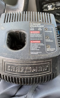 Craftsman 1hour Charger for drill/sawzaw