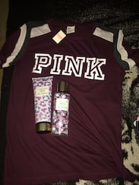 Victoria's Secret t shirt and lotion + body spray  Winnipeg, R3B 2N1