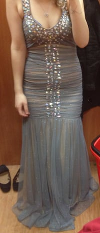 women's gray dress-with tag