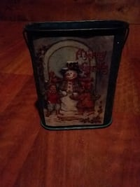Holiday Card Holder with Snowman Griffith