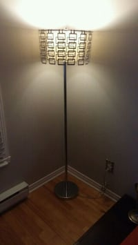 black and white torchiere lamp Laval, H7H 2Z5
