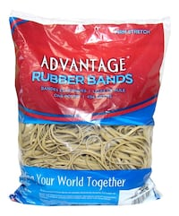 1 pound or rubber bands - camrose