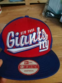 red and blue New Era 9Fifty snapback cap Mount Airy, 21771