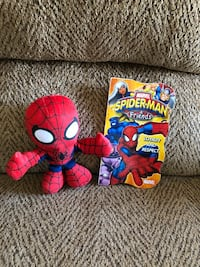 Plush Spiderman and book Saint Peters, 63376
