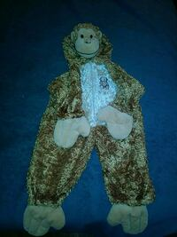 Toddlers size 2-4 years monkey costume Fort Wayne, 46805