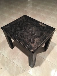 rectangular black wooden coffee table Richmond Hill, L4B 2Z9