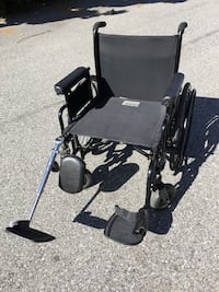 "Invacare 9000 Topaz 22"" HD Wheelchair 700 lbs"
