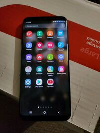 Samgsung Galaxy s8 plus in good condition nothing wrong I just upgrade