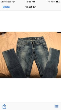 Women's Miss Me Skinny Jeans Size 27 $25/Great Condition Henderson, 89011