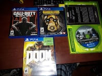 4 ps4 games Fort McMurray, T9K